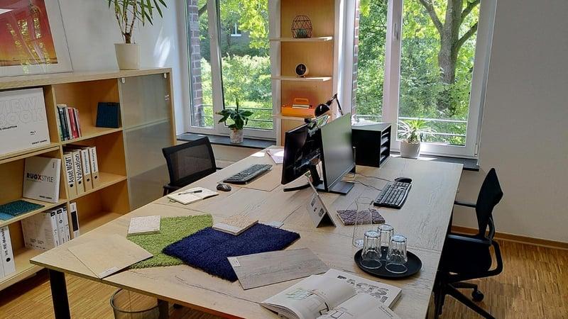 Arbeiten im echten Technologiezentrum