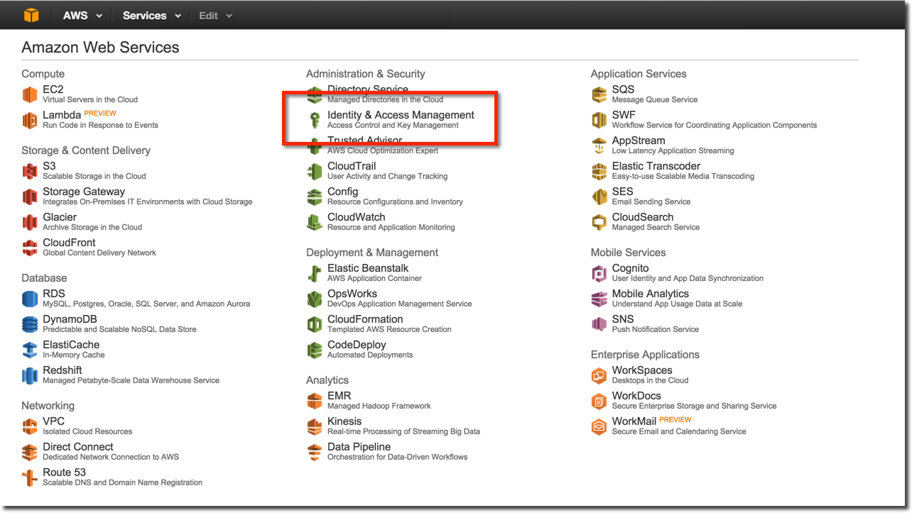 Getting Started with AWS - AWS Account Management: IAM Users