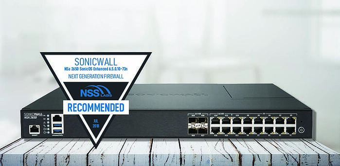 SonicWall NSa 2650 Excels In Firewall Group Test