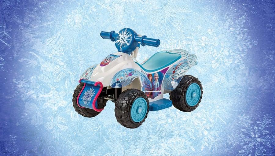 Day 10: Frozen Sing & Ride Toddler Quad