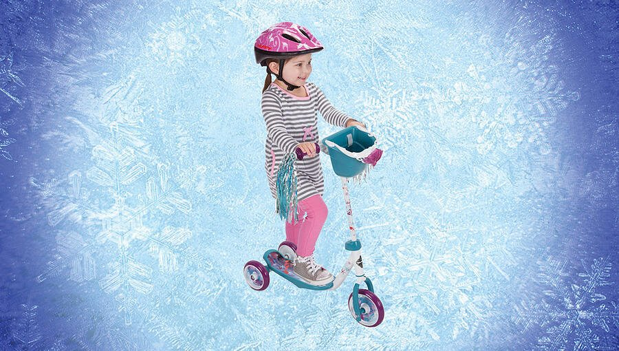 Day 11: Frozen Toddler Scooter