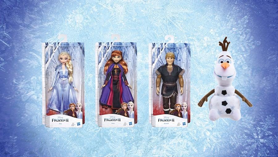 Day 4: Frozen II Figurines