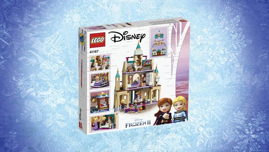 Day 9: LEGO Arendelle Castle Village