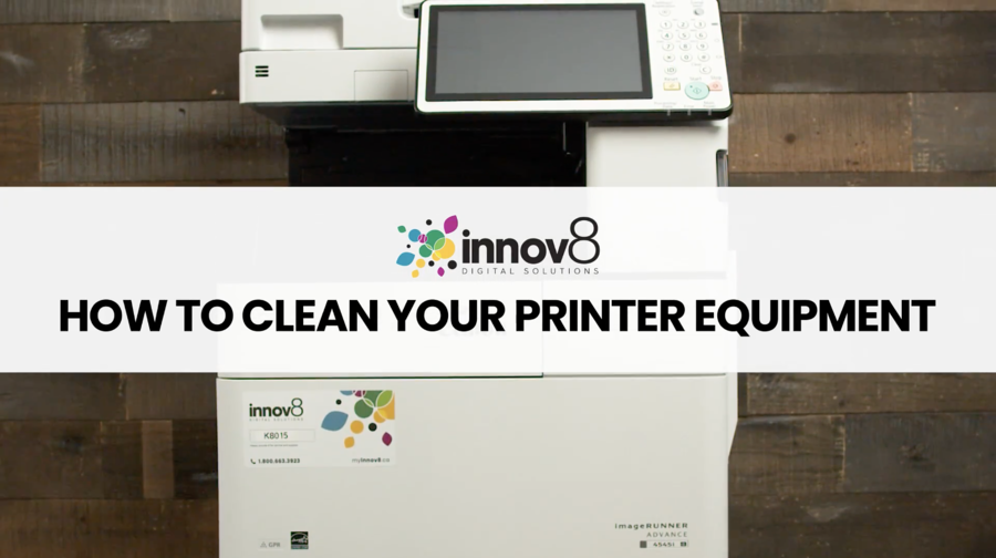 4 Tips and Tricks for Disinfecting and Cleaning Printers