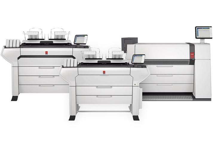 Increase Production Efficiency with Océ Wide Format Printers