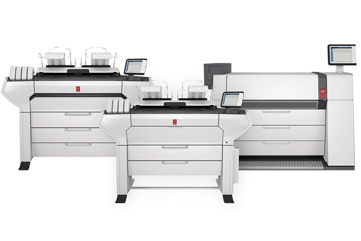 Increase Production Efficiency with Océ Wide Format Printers