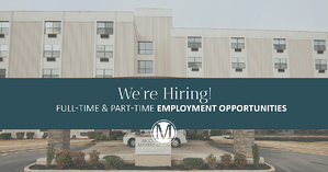 Full-Time & Part-Time Employment Opportunities at McClellan Senior Living