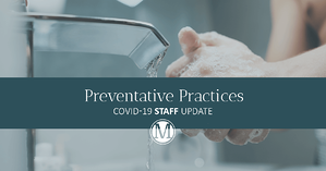 Staff Update: Coronavirus (COVID-19) and Flu Prevention