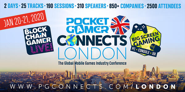4 of the Biggest Sessions at Pocket Gamer Connects London 2020