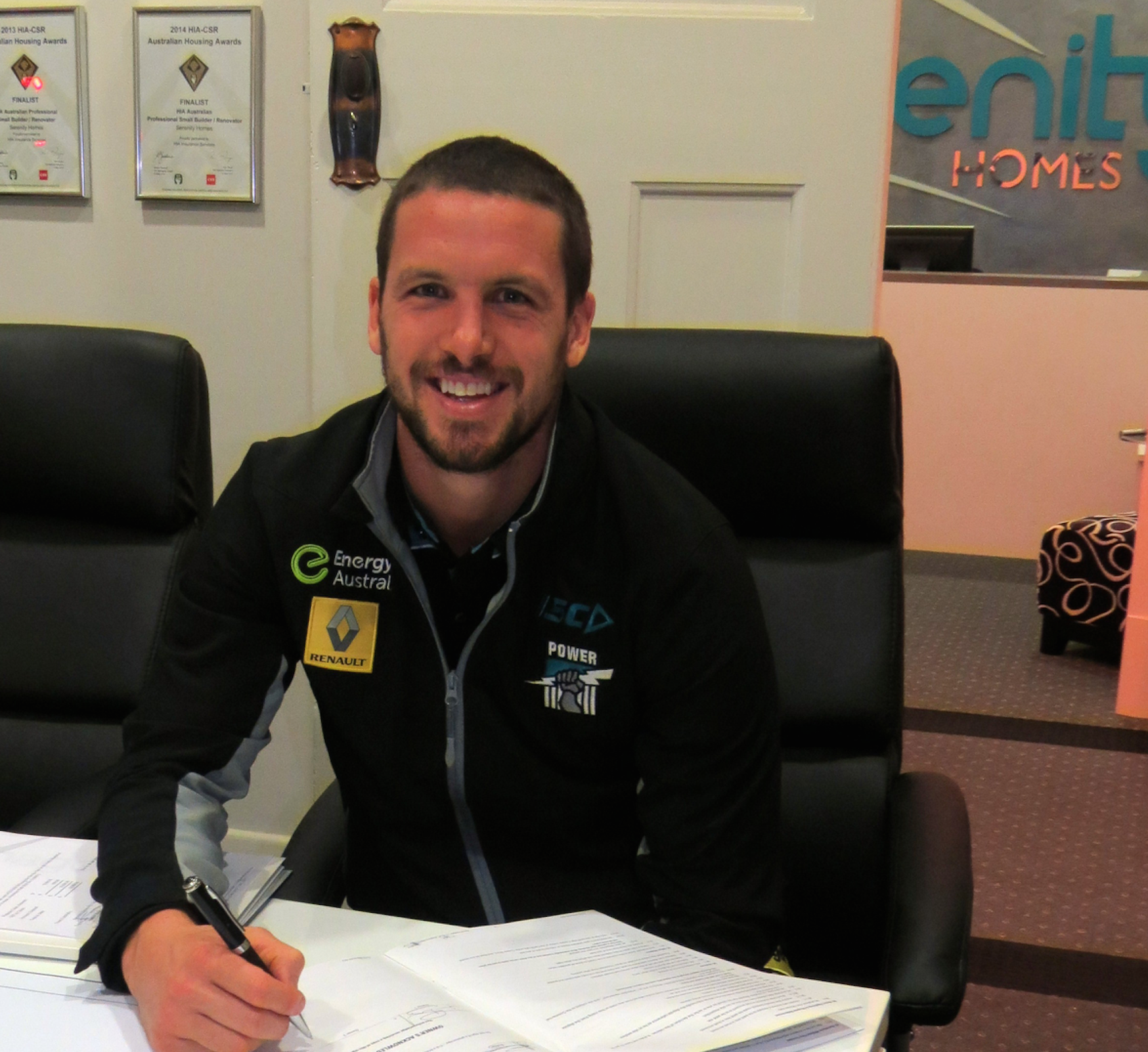 Serenity Homes Travis Boak Signs A New Contract