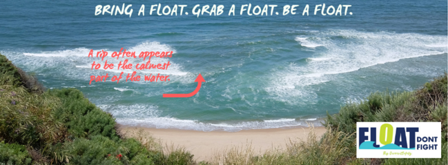 Float Don't Fight: Using PR and Social Media to Raise Awareness of Rip Current Safety