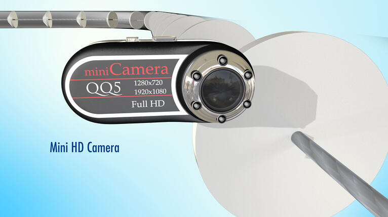 A Conveyor Monitoring System Camera Ensures Food Safety