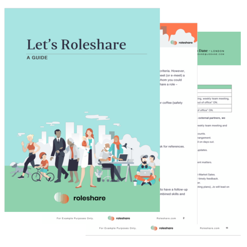 Roleshare Guide and Plan