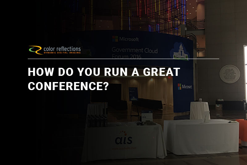 How Do You Run a Great Conference?