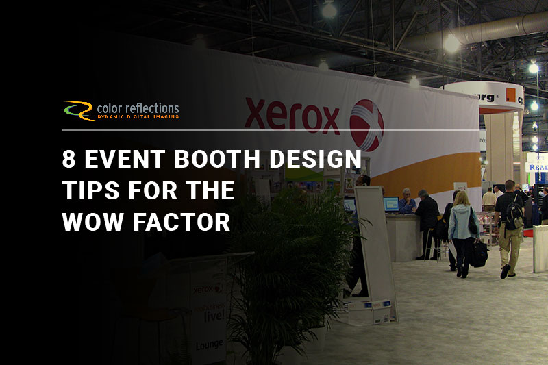 8 Event Booth Design Tips for the WOW Factor