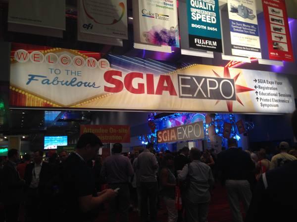 The 2014 SGIA Expo