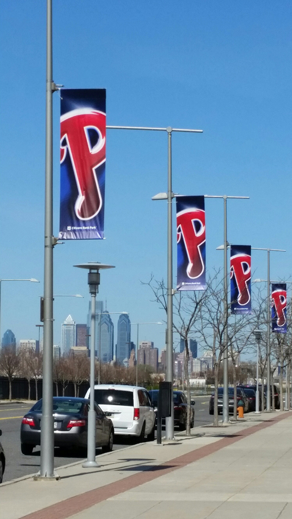 Citizen Bank Park Pole Banners