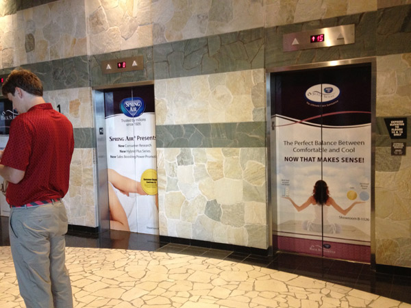 Going Up: Custom Elevator Wraps