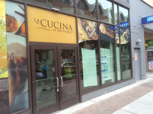 La Cucina At The Market Window Graphics