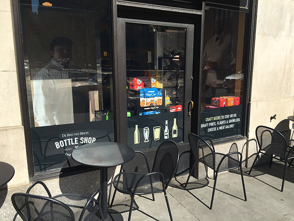 Di Bruno Bros. Bottle Shop Window Graphics