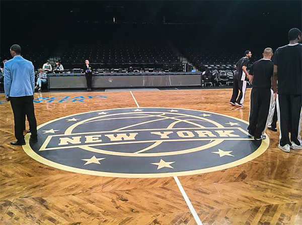 Barclays Center Floor Graphic