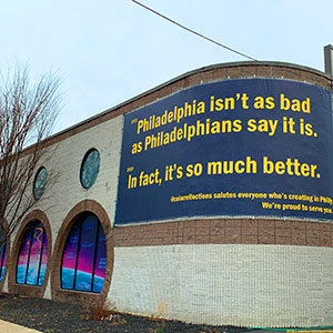 WHY WE UPDATED A LEGENDARY PHILLY AD CAMPAIGN TO KICK OFF OUR NEW #COLLABORATORSWANTED BANNER SERIES