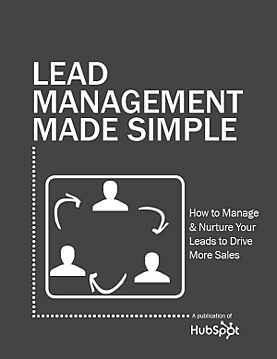 Lead Management Made Simple cover