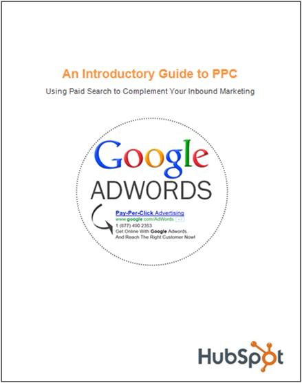 PPC ebook google adwords cover page