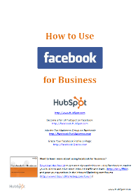 Hubspot facebook guide