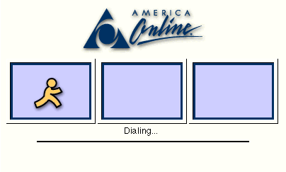 AOL dial-up