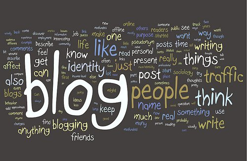 blogging image