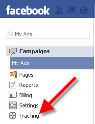 Facebook Conversion Tracking Tool Feature