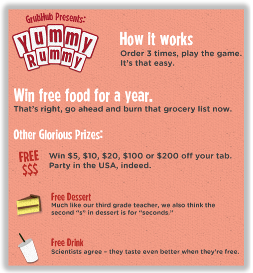 grubhub loyalty program