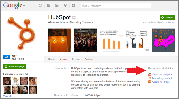hubspot google recommended links resized 600