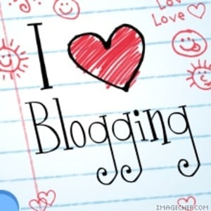 I love blogging photo