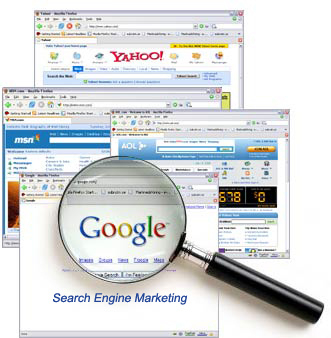 We can develop a search engine marketing