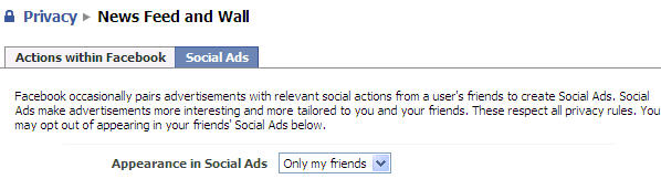 facebook social ads settings privacy