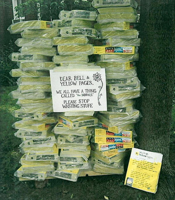 yellow pages waste of money