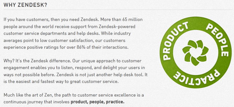 zendesk copywriting