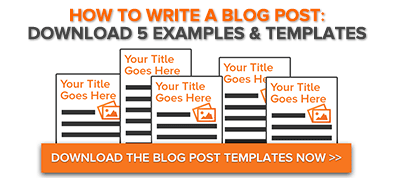 How to write a blog entry