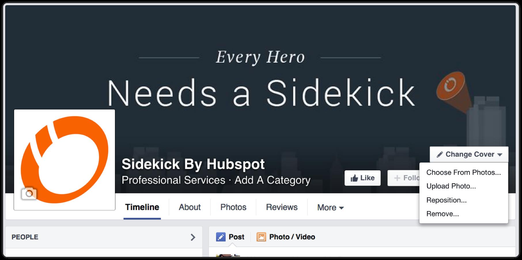 every-hero-needs-sidekick-by-hubspot-facebook-cover-photo