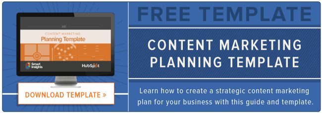 free download: content planning template