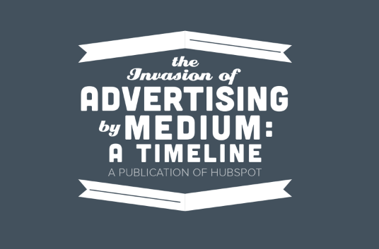 How Cluttered Is the Advertising Landscape, Really? [Timeline]