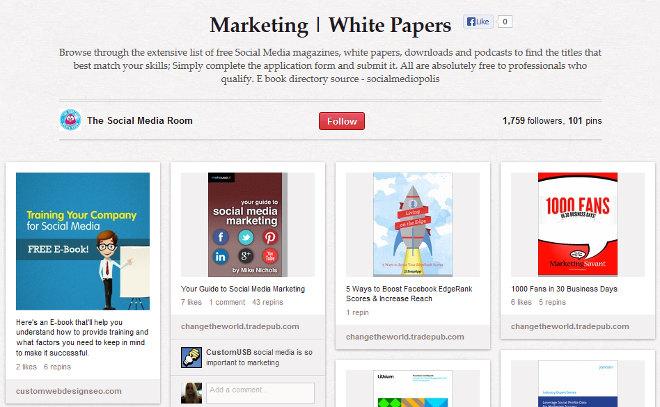 10 of the Best Pinterest Boards to Teach You About Marketing