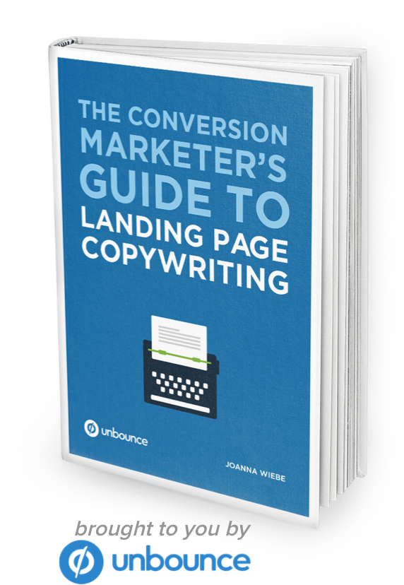 Learning Landing Page Copywriting from Unbounce.