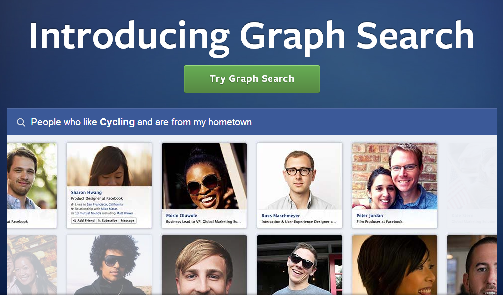 Facebook Finally Rolls Out Graph Search to U.S. Users