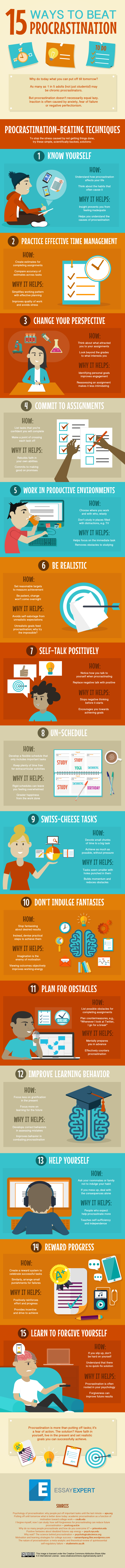 15-Ways-to-Beat-Procrastination