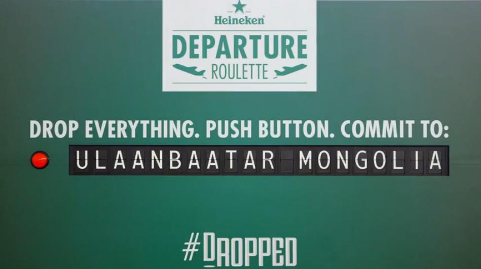 Heineken's 'Departure Roulette': Best. Marketing. Ever.
