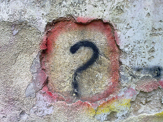 Question Mark Graffiti - bilal-kamoon