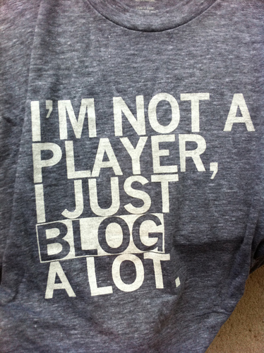 """Blog a Lot"" T-Shirt"